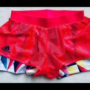 Adidas Layered Shorts Small